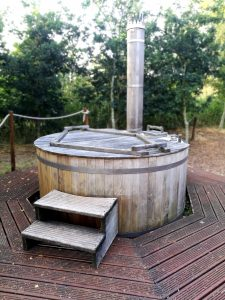 wood fired hot tub tinkers bells