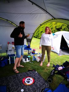camping with kids not just a tit