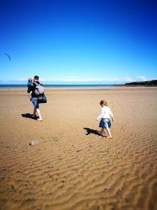 lligwy bay beach camping with kids wales