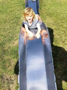camping with kids not just a tit slide park