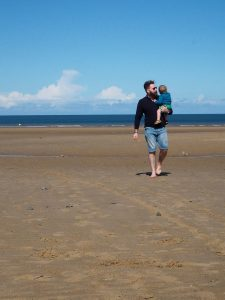 beach life camping with kids not just a tit daddy and son