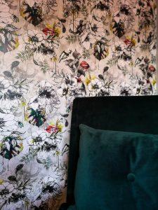 wallpaper muck n brass lips green velvet not just a tit office revamp