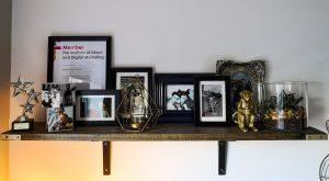 shelf homemade handmade not just a tit office revamp