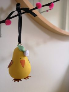 not just a tit easter baking and crafting with kids blog post this is naomi gale pear animal bauble