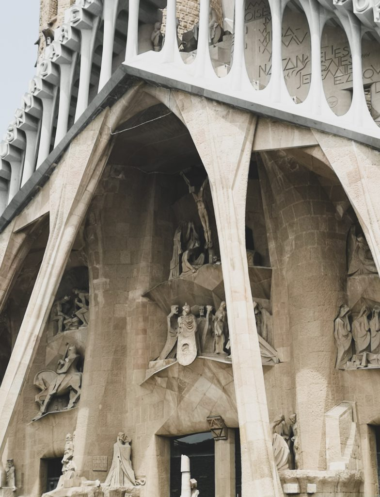 not-just-a-tit-lifestyle-blog-city-break-barcelona-sagrada-familia-stonework-jesus-religious