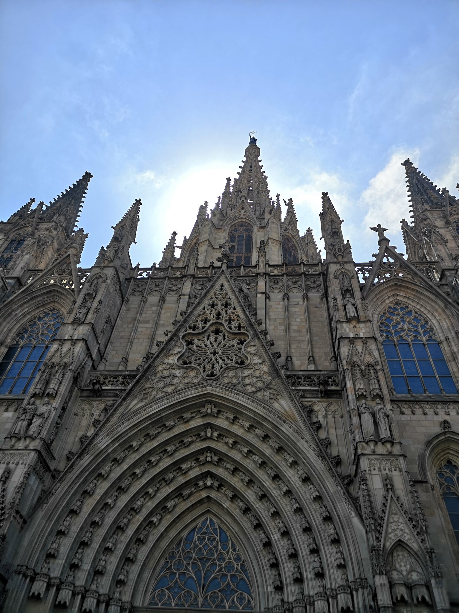 not-just-a-tit-lifestyle-blog-city-break-barcelona-cathedral-entrance