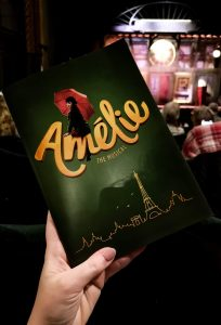 amelie the musical programme shot