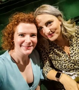 theatre buddies not just a tit lifestyle blogger holly goes lightly hollywood manchester opera house amelie the musical