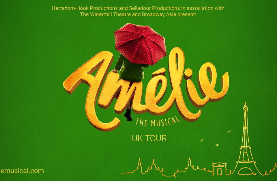 amelie the musical uk tour poster