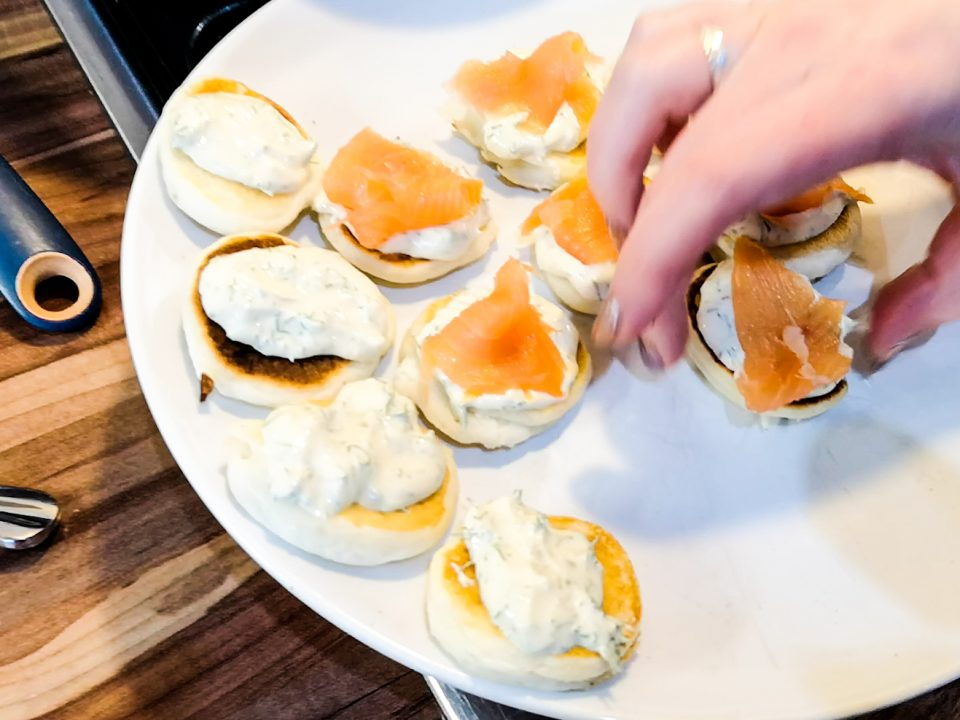 styling my christmas festive canapes not just a tit lifestyle blogger food
