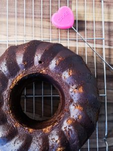 banana chocolate coffee bundt cake not just a tit food recipe