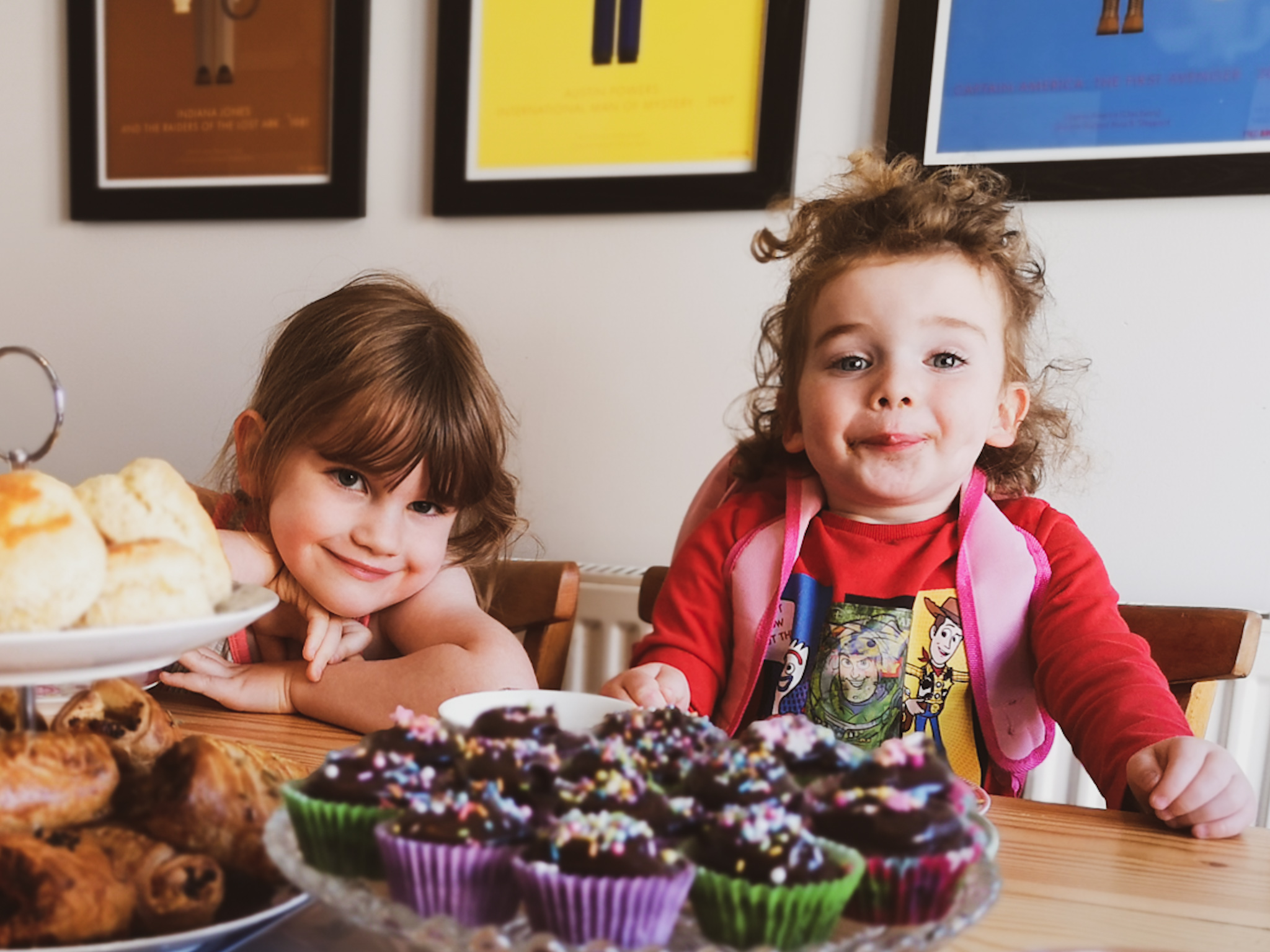 Create a perfect afternoon tea with the kids