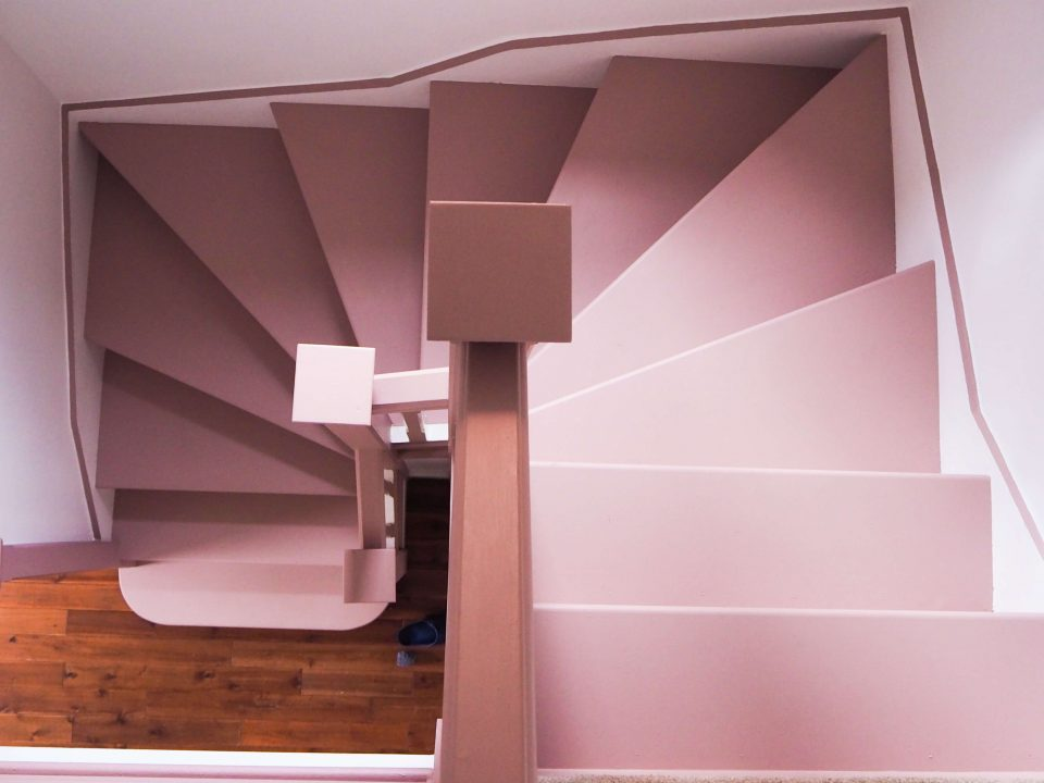 how to create a stunning staircase on a budget notjustatit.uk blogger interiors
