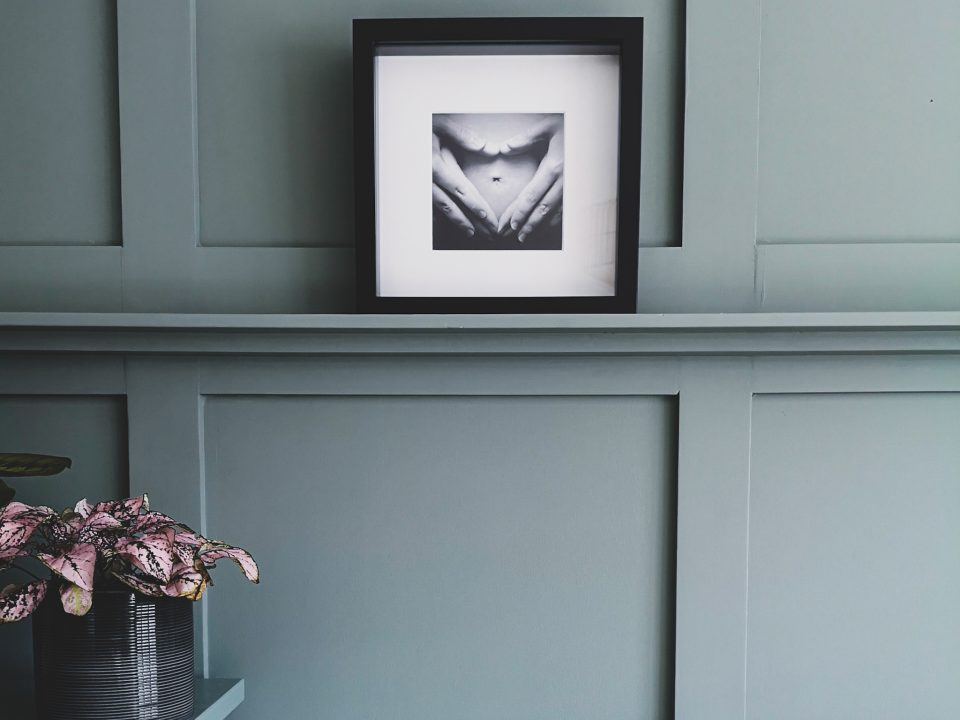 how to create a panelled wall bedroom notjustatit interiors blog green paint shelf
