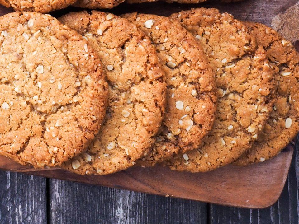 best anzac biscuit recipe blog notjustatit baking