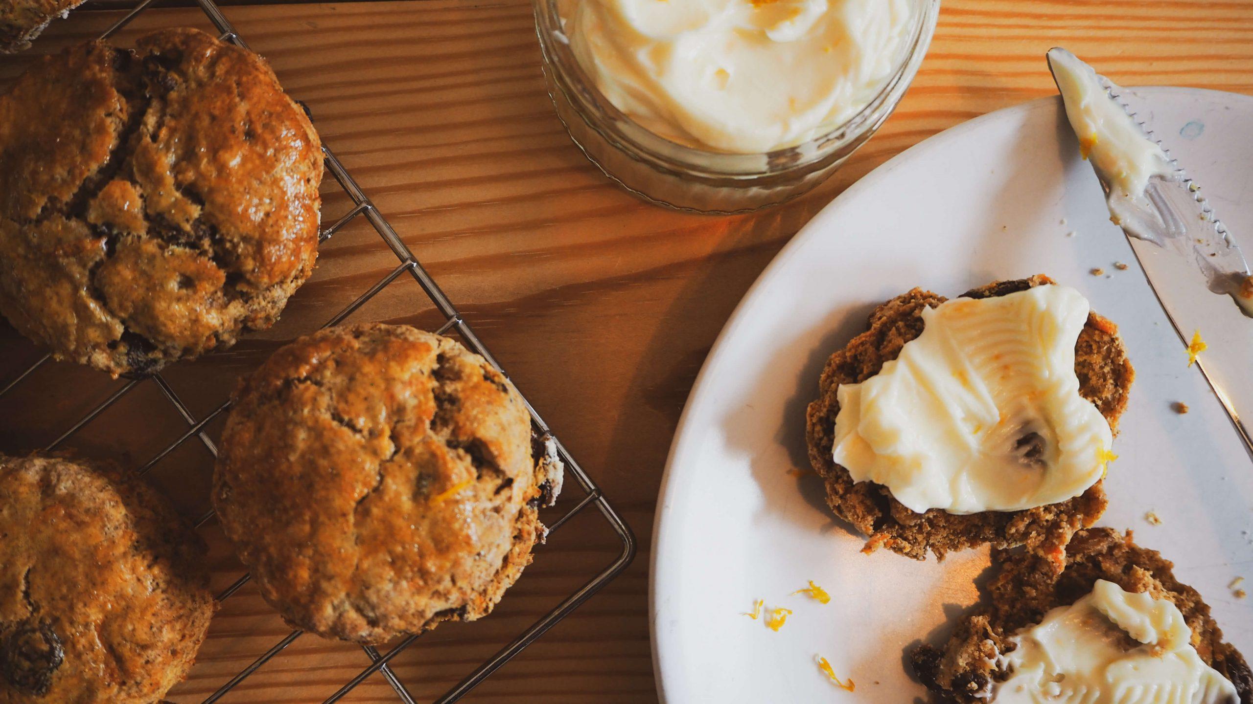 Belly Bakes Week 21: Carrot cake scone recipe